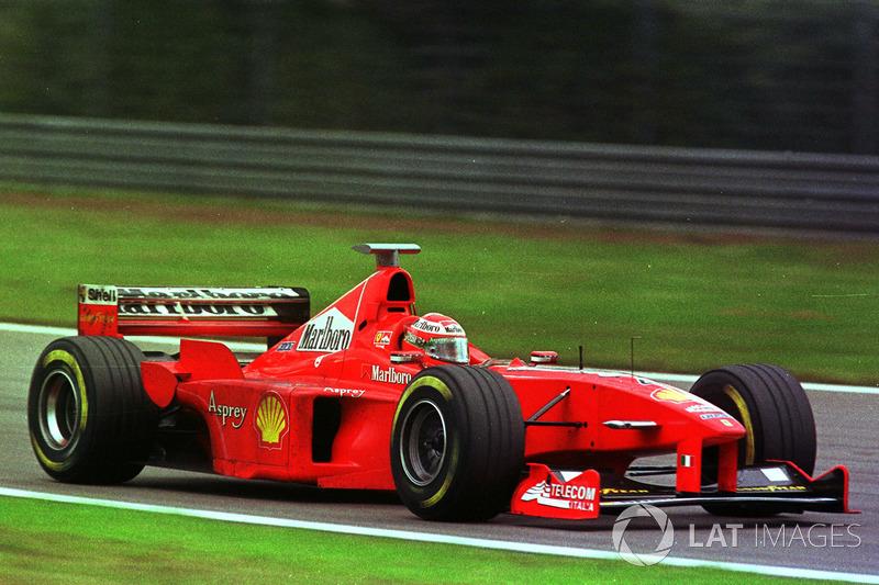 Эдди Ирвайн, Ferrari(47очков, восемь подиумов)