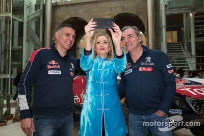 Carlos Sainz victory return