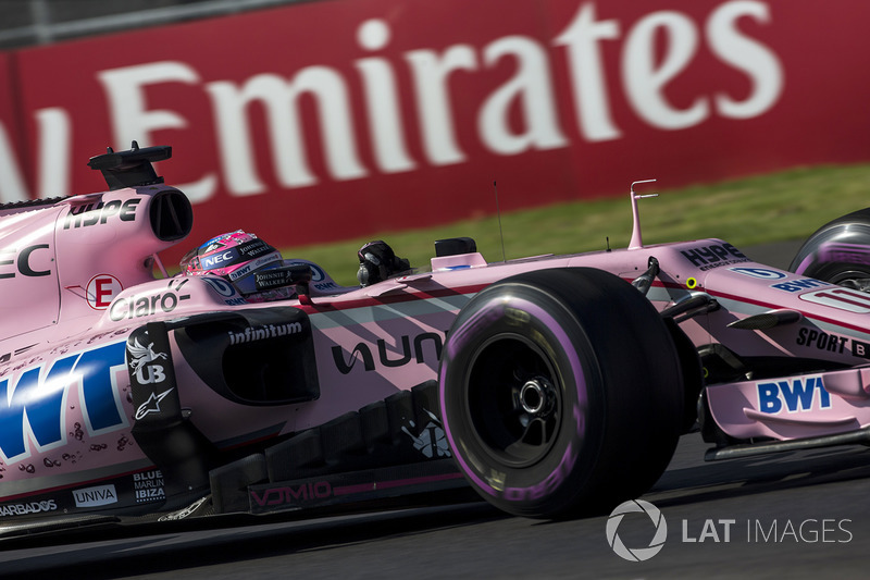 10. Esteban Ocon, Sahara Force India VJM10