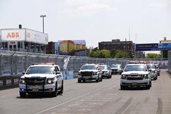 Los pilotos con la policía de New York City