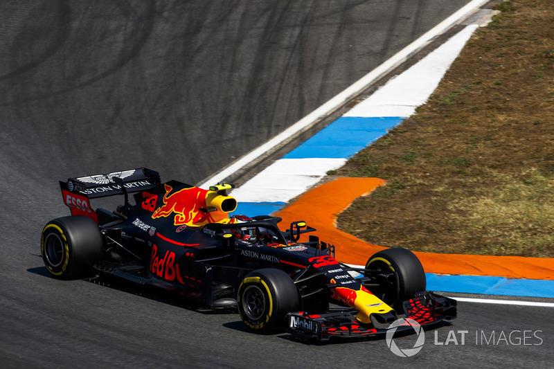 4: Макс Ферстаппен, Red Bull Racing RB14, 1'11.822