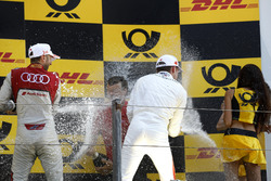 Podyum: Yarış galibi René Rast, Audi Sport Team Rosberg, 3. Paul Di Resta, Mercedes-AMG Team HWA