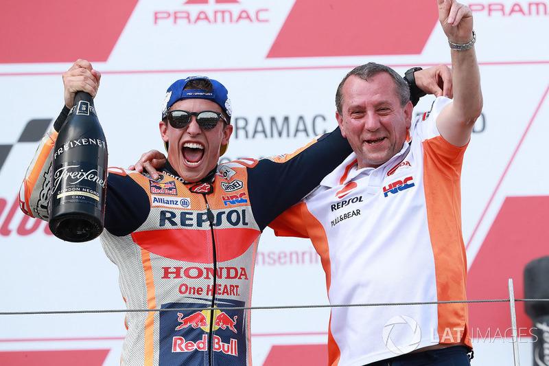 Podium 1: Marc Marquez, Repsol Honda Team
