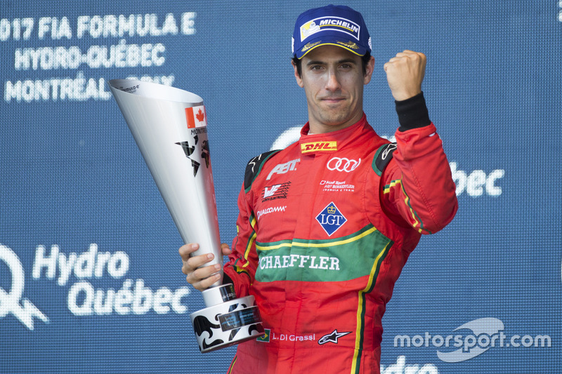 Формула E: Лукас ді Грассі (Бразилія)