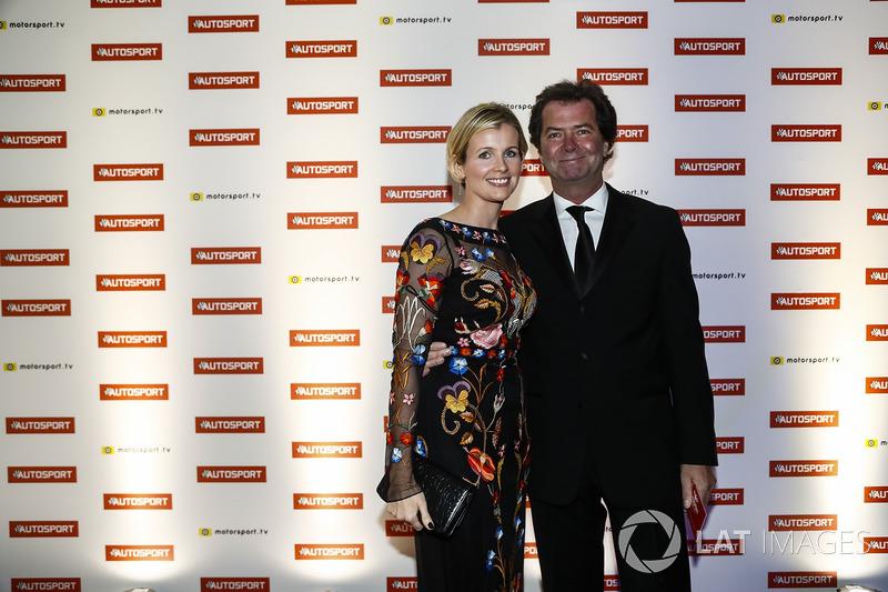 Trevor Carlin and wife Stephanie