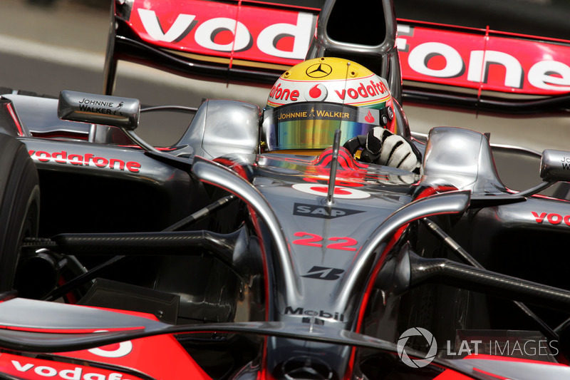 2008 - Lewis Hamilton, McLaren-Mercedes