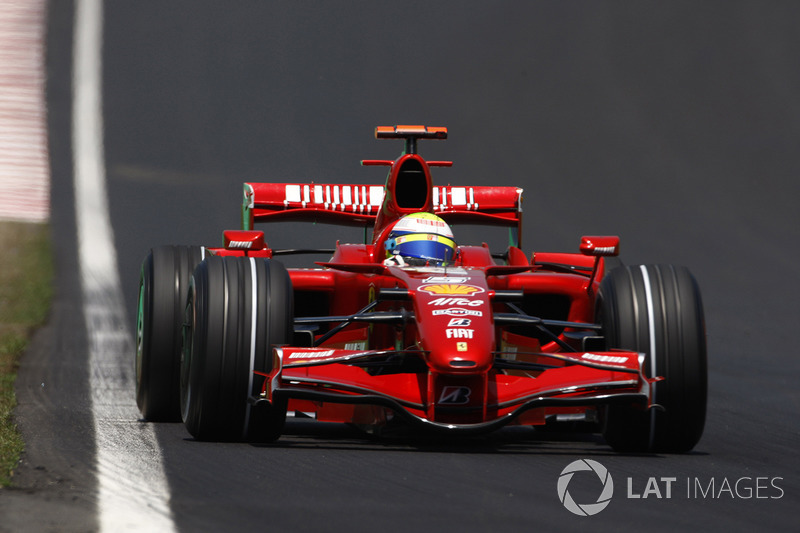 2007: Ferrari F2007 - 94 pontos, quarto lugar no Mundial de Pilotos