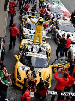 third place #92 Stratstone Ferrari Ferrari 488: Sam Smeeth