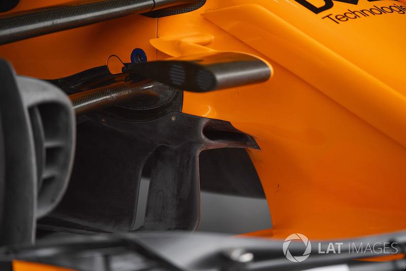 McLaren MCL33 aero detail