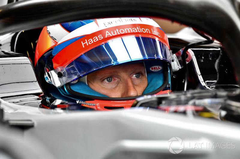 Romain Grosjean, Haas F1 Team VF-18