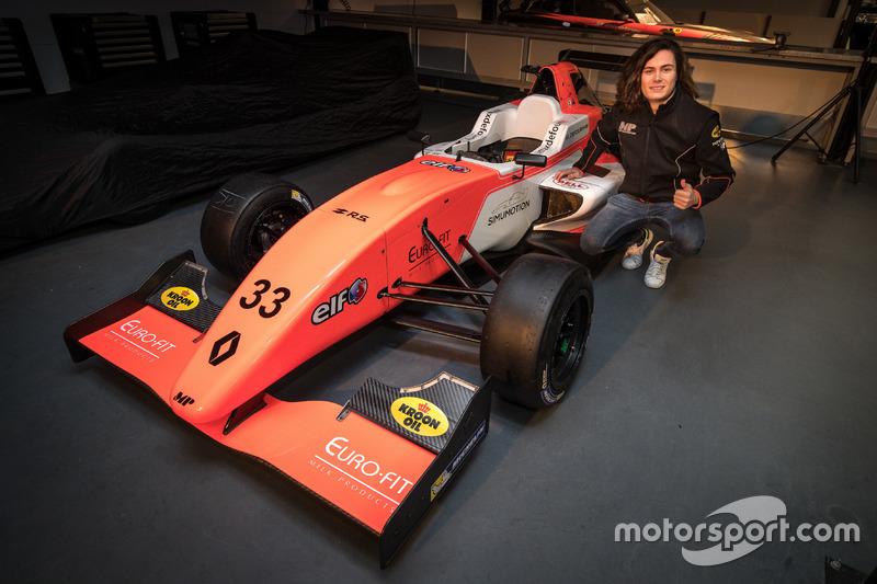 Max Defourny MP Motorsport aankondiging