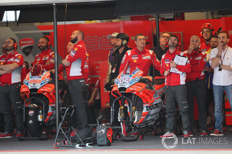 Garage de Andrea Dovizioso, Ducati Team