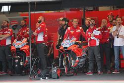 Garage of Andrea Dovizioso, Ducati Team