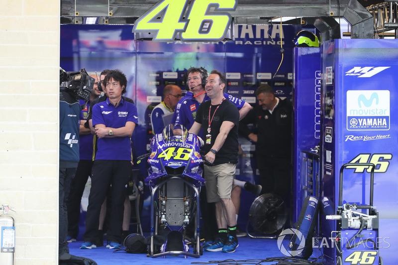 Garage of Valentino Rossi, Yamaha Factory Racing