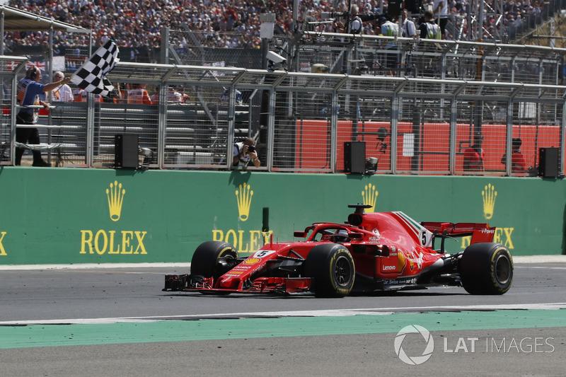 GP de Gran Bretaña: Sebastian Vettel