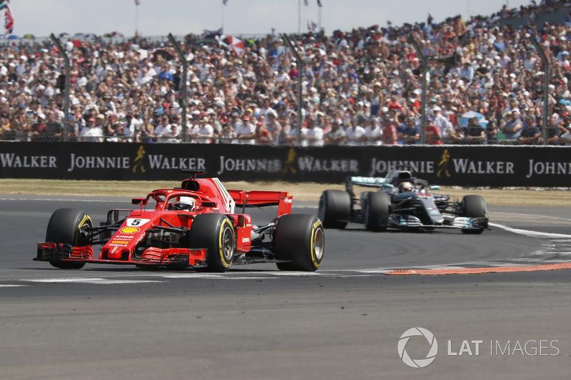 Sebastian Vettel, Ferrari, Lewis Hamilton, Mercedes-AMG F1 W09