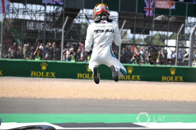 El poleman: Lewis Hamilton, Mercedes-AMG F1