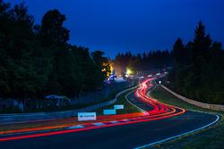 Nürburgring-Nordschleife am Abend