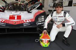 #1 Porsche Team Porsche 919 Hybrid: Pietro Fittipaldi