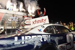 2017 champion William Byron, JR Motorsports Chevrolet