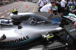 Mercedes-AMG F1 W09 engine cover