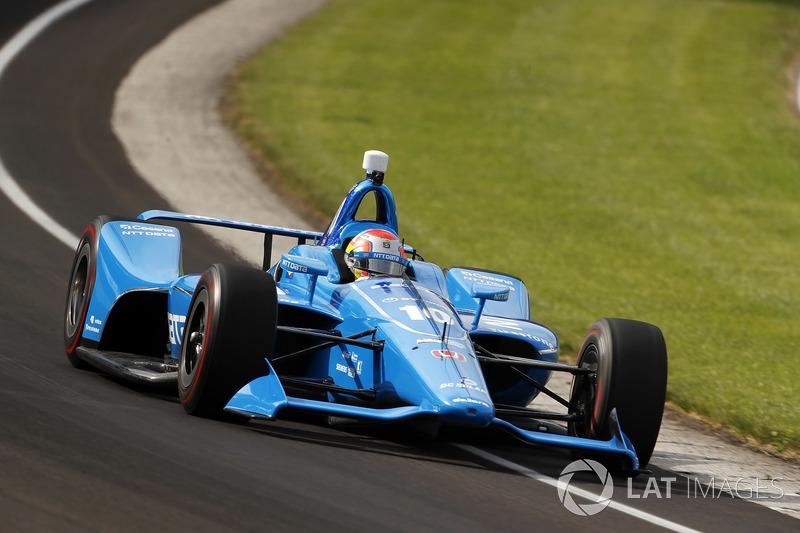 DNF: Ed Jones, Chip Ganassi Racing, Honda