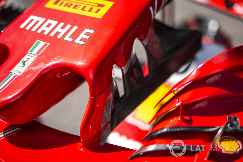 Sayap depan Ferrari SF71H
