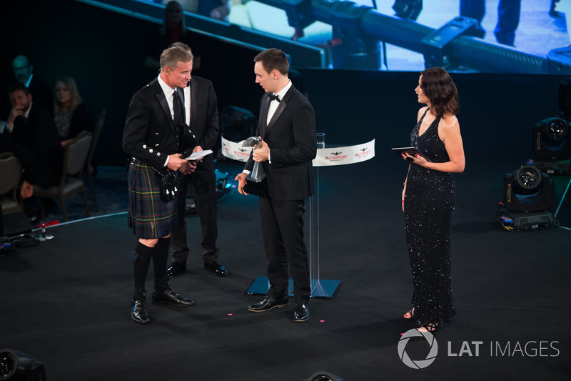 Autosport Williams Engineer of the Future Award winner Martins Zalmans