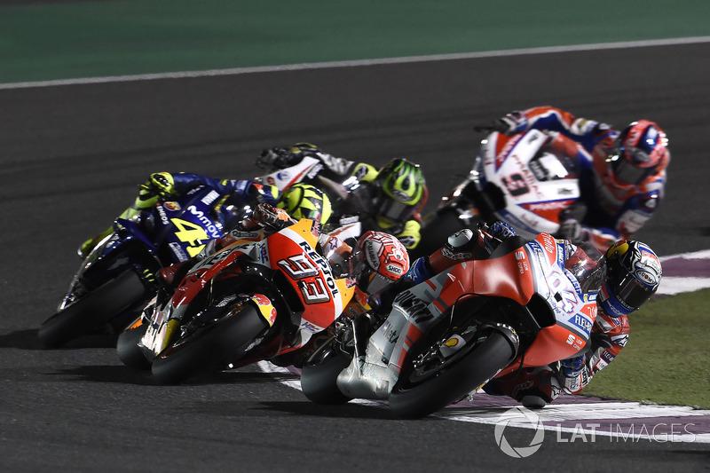 1. Гран Прі Катару - переможець Андреа Довіціозо, Ducati Team