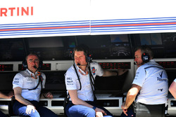 Paddy Lowe, Williams Hissedarı ve Teknik Patronu ve Rob Smedley, Williams Performans Sorumlusu