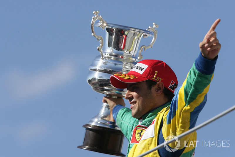 Ganador del GP de Brasil 2006: Felipe Massa, Ferrari