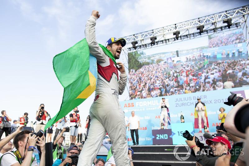 Лукас ді Грассі, Audi Sport ABT Schaeffler, переміг на еПрі Цюріха