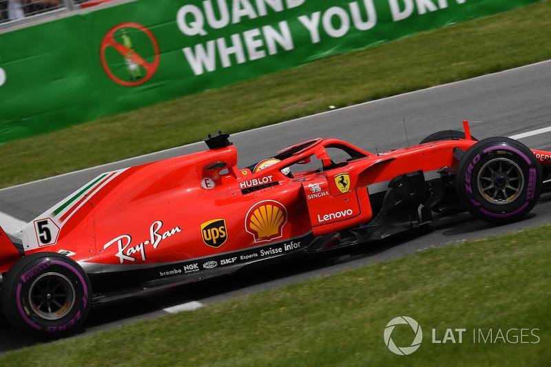 Vettel 14. kez tüm yarışı lider götürdü
