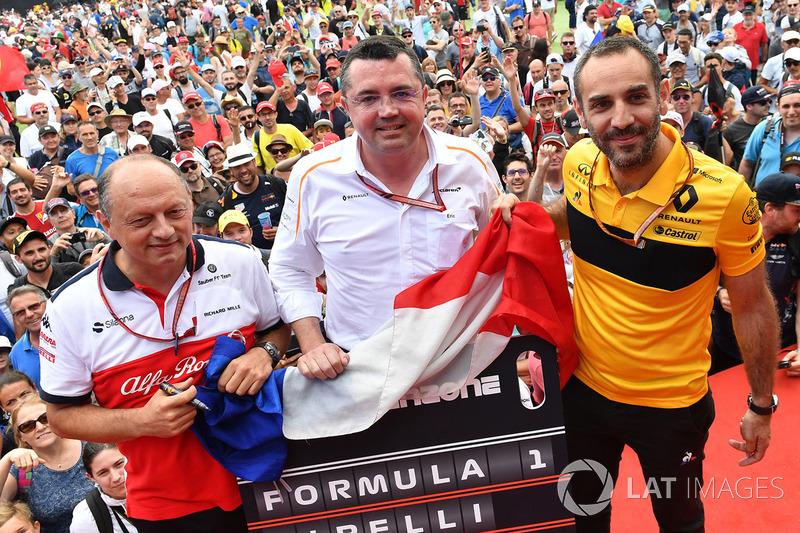 Фредерік Вассьон, Sauber, Сіріль Абітбуль, Renault Sport F1 Team, Ерік Бульє, McLaren