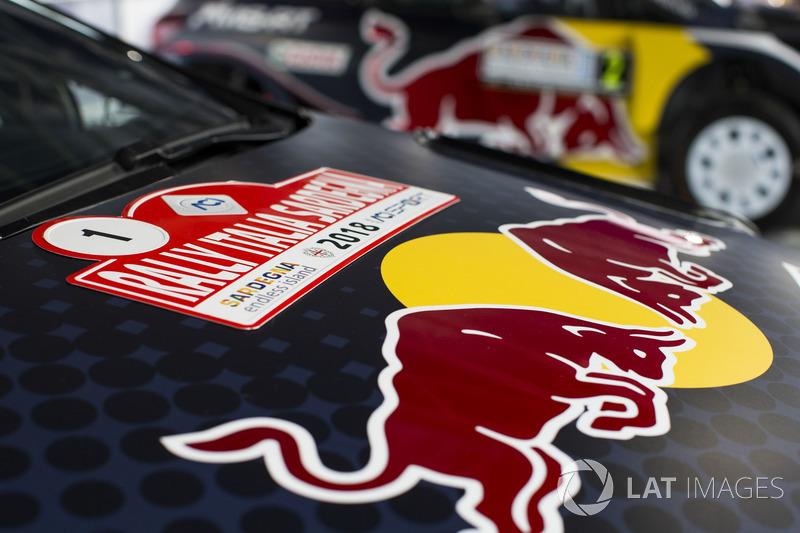 L'auto di Sébastien Ogier, Julien Ingrassia, M-Sport Ford WRT Ford Fiesta WRC