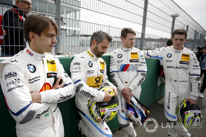 Augusto Farfus, BMW Team RMG, Timo Glock, BMW Team RMG, Marco Wittmann, BMW Team RMG, Joel Eriksson,