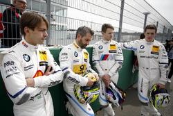 Augusto Farfus, BMW Team RMG, Timo Glock, BMW Team RMG, Marco Wittmann, BMW Team RMG, Joel Eriksson, BMW Team RBM