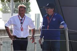 Jean Alesi, padre di Giuliano Alesi, Trident e Nelson Piquet, padre di Pedro Piquet, Trident