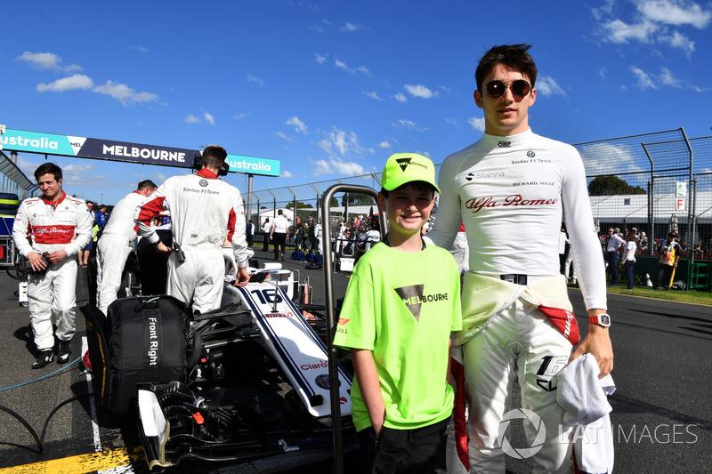 Charles Leclerc, Sauber con i grid kid