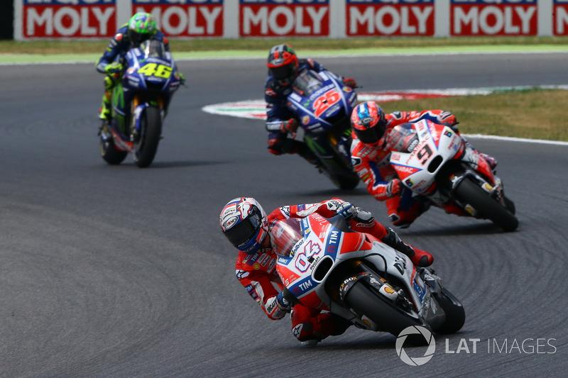 Андреа Довіціозо, Ducati Team leads