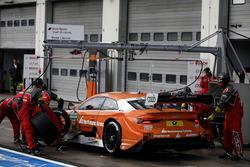 Jamie Green, Audi Sport Team Rosberg, Audi RS 5 DTM, Boxenstopp