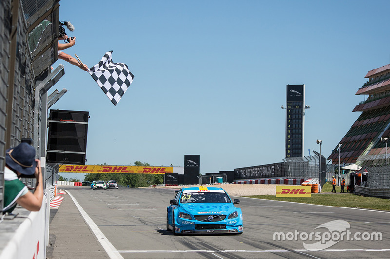 Nicky Catsburg, Polestar Cyan Racing, Volvo S60 Polestar se lleva la victoria