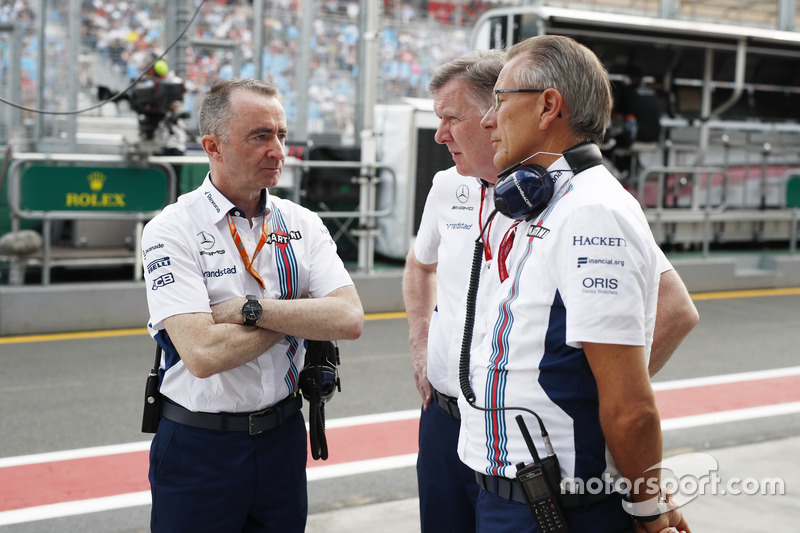Paddy Lowe, Williams; Mike O' Driscoll, Geschäftsführer, Williams