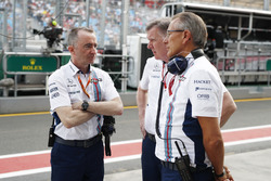 Paddy Lowe, Williams Formula 1, y Mike O' Driscoll, CEO de Williams