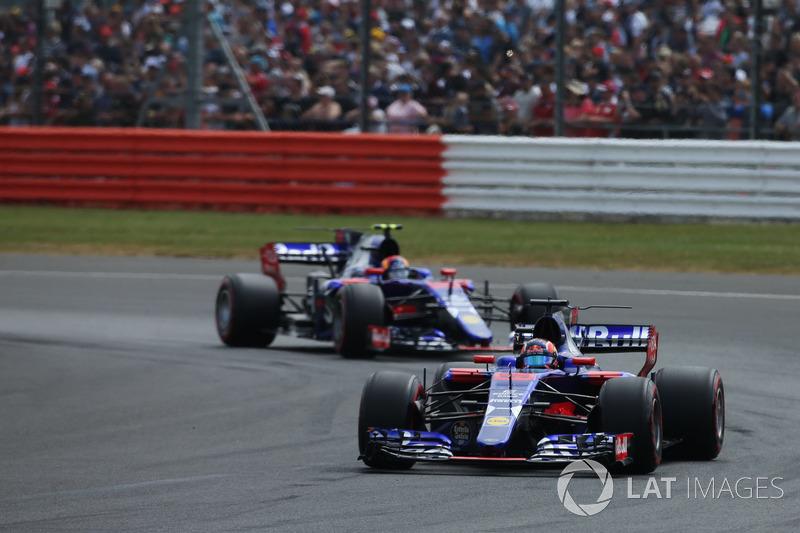 Daniil Kvyat e Carlos Sainz – GP da Inglaterra de 2017