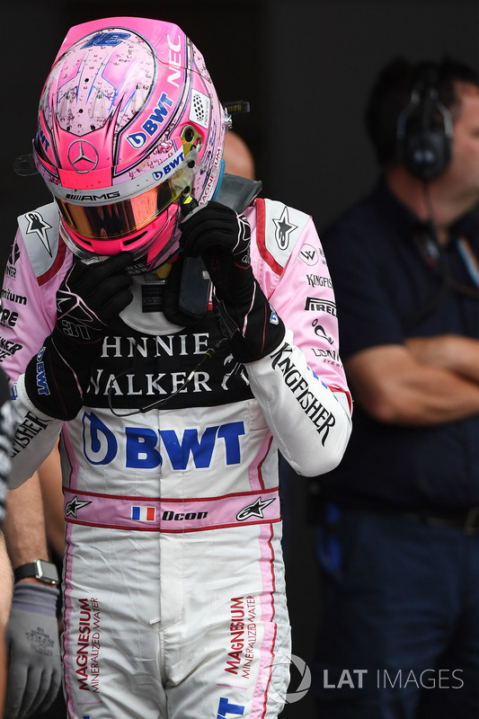 Естебан Окон, Sahara Force India F1