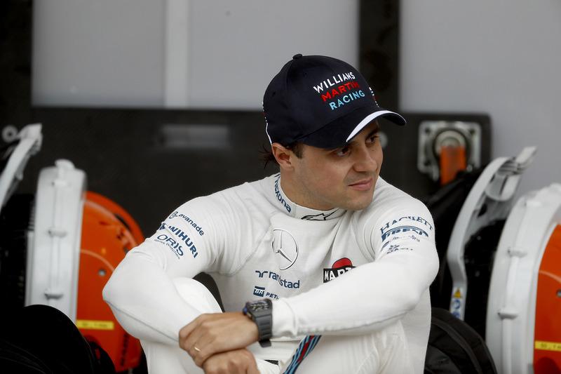Фелипе Масса перед гонкой