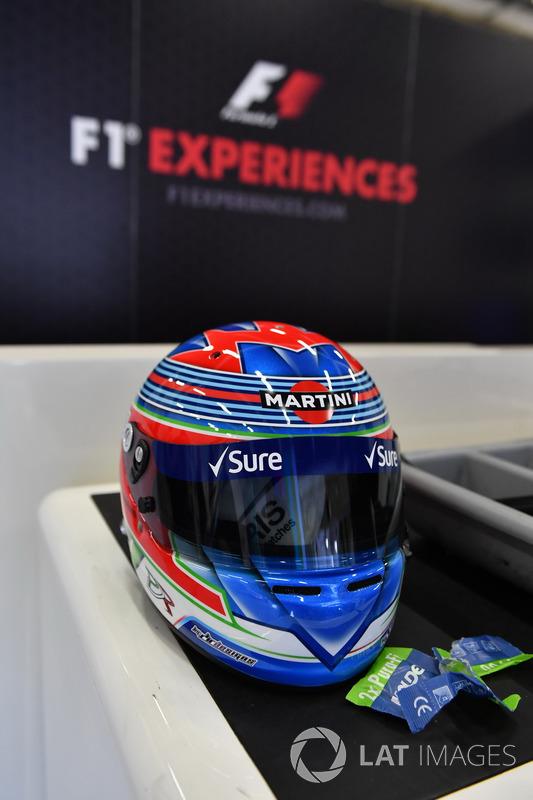 Helm von Paul di Resta, Williams-Testfahrer