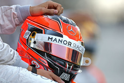 Helmet of Esteban Ocon, Manor Racing