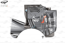 McLaren MP4-31 rear wing (trialed but not raced)